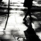 Sidewalk - Light and shadow photography