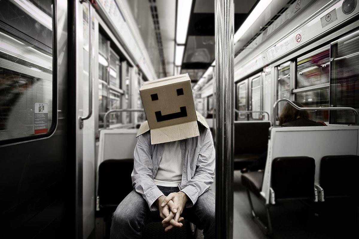 Cardboard Box Head - Conceptual and narrative photography ...