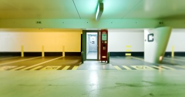 Colored exit - photographie urbaine