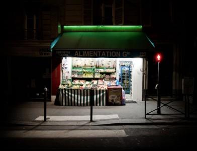 Urban Oasis 3 - photographie de nuit