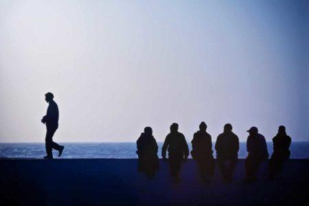 Essaouira - le conseil des ombres - photographie ombre et lumière