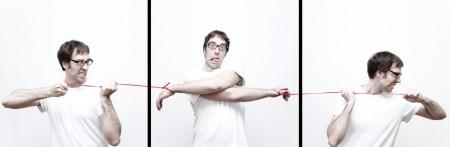 Photographie Marionnette 2 dans ma série des autoportraits en diptyque