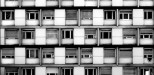 Mise en boîte - blocs de béton - photographie urbaine et architecture