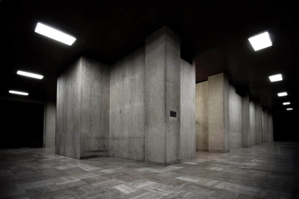 Concrete block - urban architecture photography