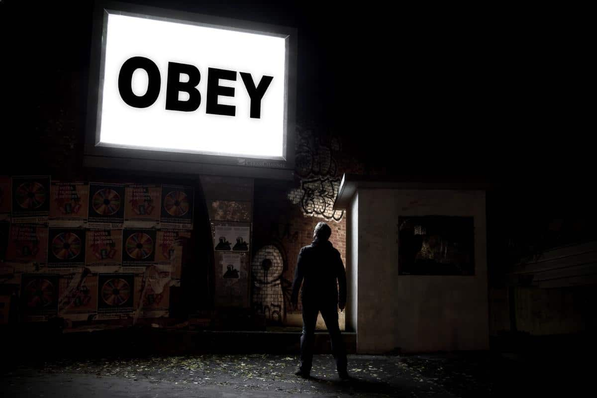 Narrative and conceptual photography - Obey