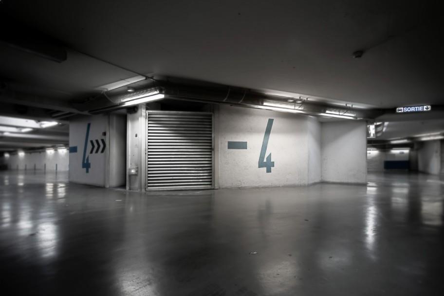 underground parking garages urban photography. Black Bedroom Furniture Sets. Home Design Ideas