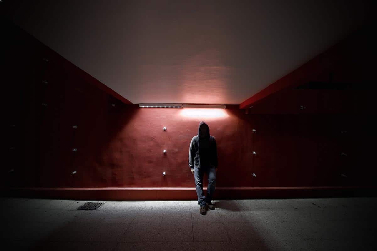 Redrum - night photography