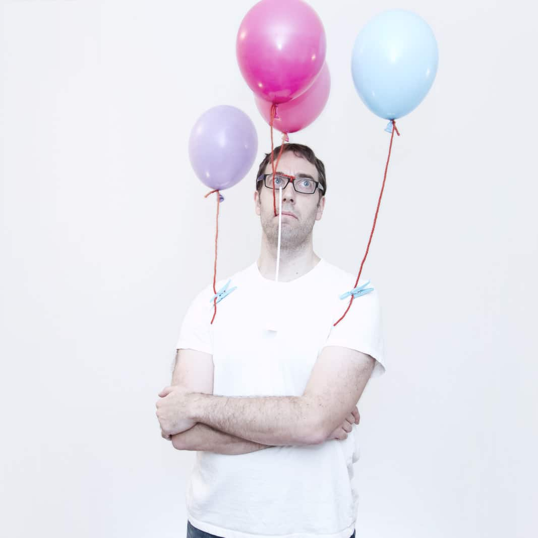 Balloon man - richard vantielcke - ludimaginary