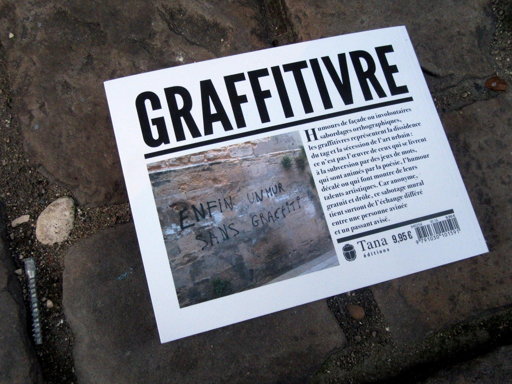 Couverture de Graffitivre