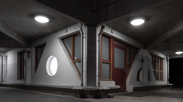 Vignette - Photographie urbaine de nuit - Star of concrete