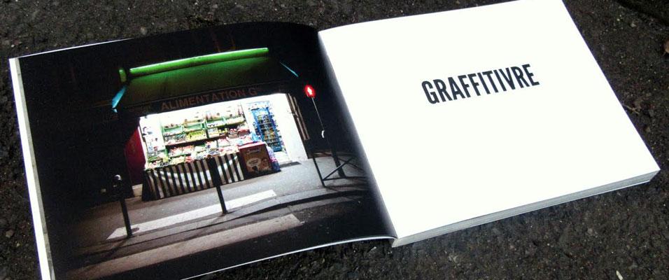 Illustration de Graffitivre - photographie Urban Oasis 3