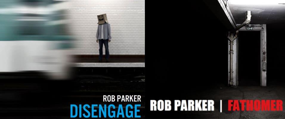 Illustration pour les pochettes des deux albums du musicien Rob Parker
