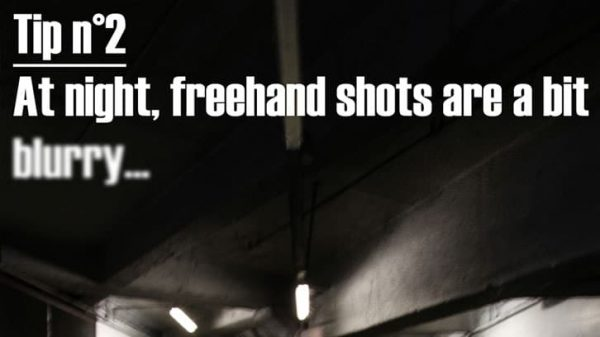 Night photography tip 2 : Freehand shots - thumbnail
