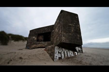 Bunker - épaves de béton 2 - photographie urbaine