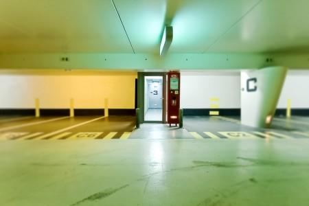 Colored exit - photographie urbaine