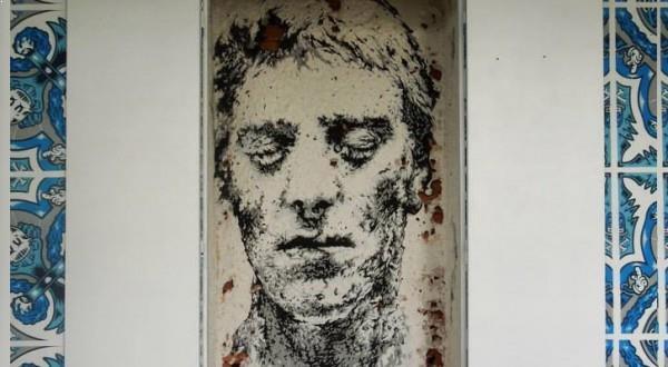 Daniel EIME - La tour Paris 13 - autoportrait Richard Vantielcke