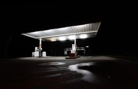Light station - photographie de nuit