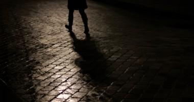 One step behind - photographie ombre et lumière