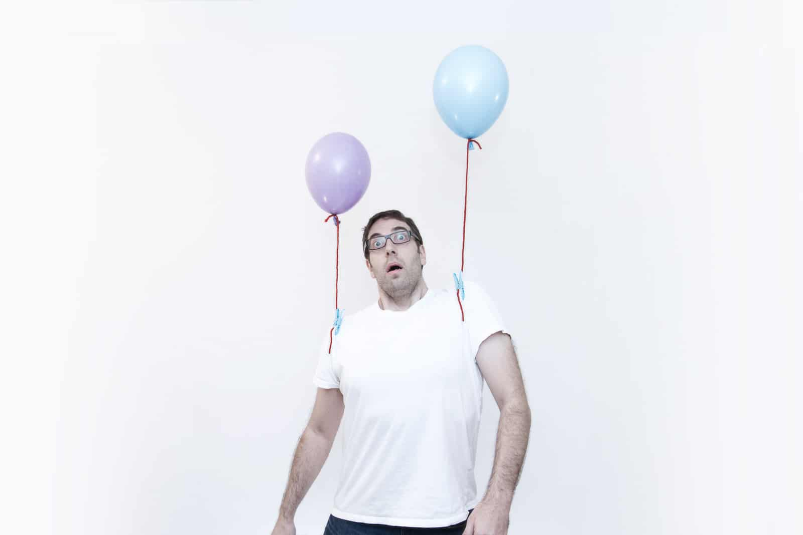Narrative photography - Inflated self-portraits
