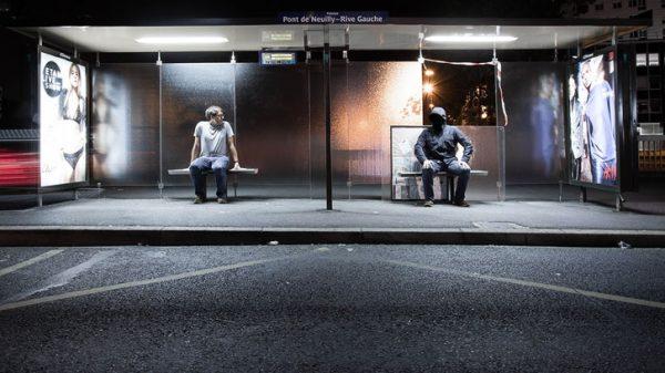 Vignette - Rive droite, rive gauche - photographie conceptuelle de nuit