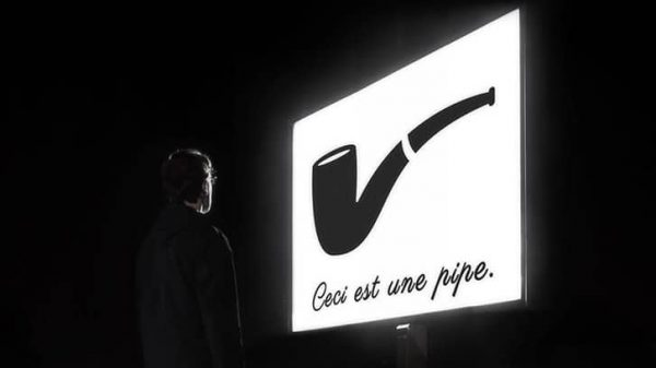 Vignette - La trahison des mots - Photo de nuit conceptuelle